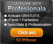gazduire ieftina, hosting ieftin, gazduire web
